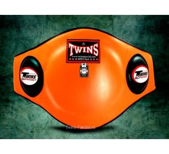 Пояс тренера Twins Special (BEPL-2 orange)