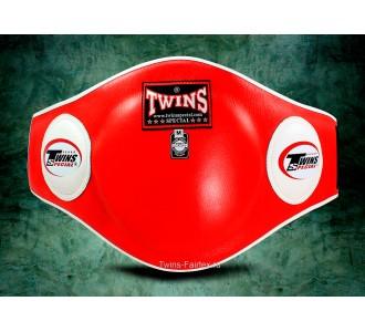 Пояс тренера Twins Special (BEPL-2 red)
