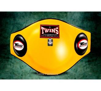 Пояс тренера Twins Special (BEPL-2 yellow)