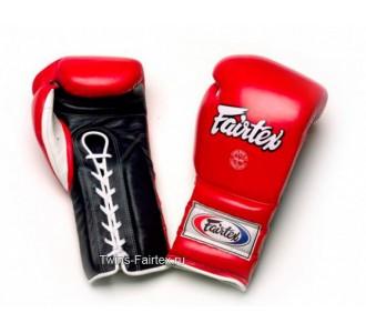 Перчатки боксерские Fairtex (BGL-7 red/black) Mexican Style