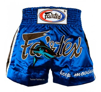 "Шорты для тайского бокса Fairtex (""Keep Moving"" BS-0645)"
