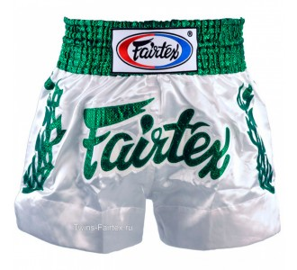 "Шорты для тайского бокса Fairtex (""Heavens Grass"" BS-0648)"