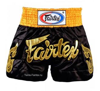 "Шорты для тайского бокса Fairtex (""Golden Horn"" BS-0652)"