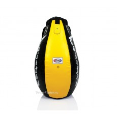 "Боксерский мешок Fairtex (HB-15 yellow/black) ""Super Tea Drop"""