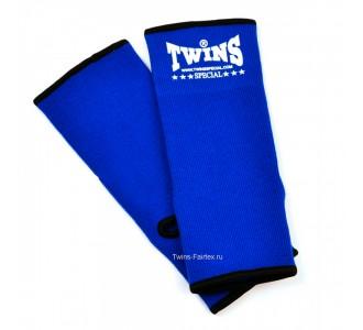 Хлопковая защита голени Twins Special (AG-blue)