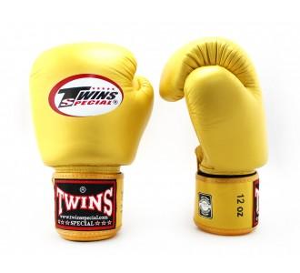 Детские боксерские перчатки Twins Special (BGVL-3 gold)