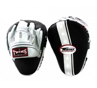 Боксерские ударные лапы Twins Special (FPML-10-51 silver Star Edition)