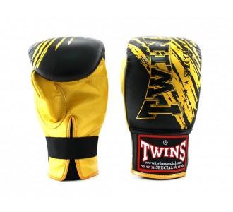 Тренировочные снарядные перчатки Twins Special (TBGL-1F-TW2 black/gold)