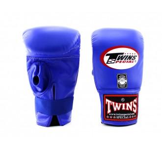 Тренировочные снарядные перчатки Twins Special (TBGL-1H blue)