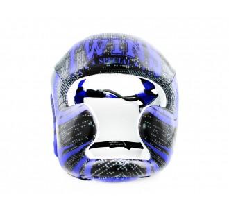Шлем боксерский Twins Special (FHGL-3 TW5 black/blue)