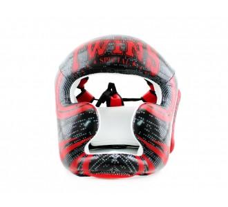 Шлем боксерский Twins Special (FHGL-3 TW5 black/red)