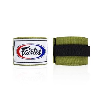 Боксерские бинты Fairtex (HW-2 green)