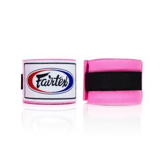 Боксерские бинты Fairtex (HW-2 pink)