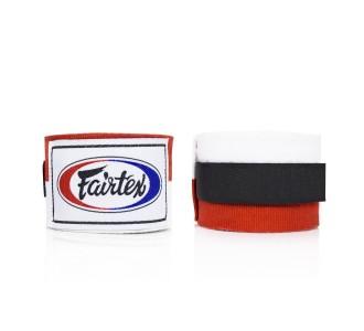 Боксерские бинты Fairtex (HW-2 red/white)