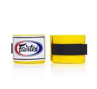 Боксерские бинты Fairtex (HW-2 yellow)