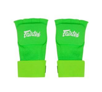 Боксерские бинты Fairtex (HW-3 green) ленивые