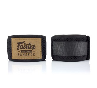 Боксерские бинты Fairtex (HW-4 black)