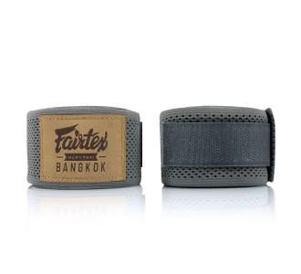 Боксерские бинты Fairtex (HW-4 gray)
