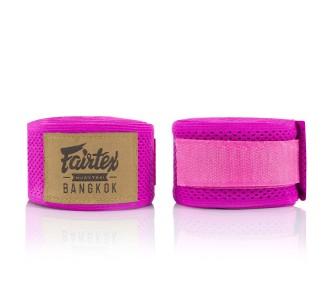 Боксерские бинты Fairtex (HW-4 pink)