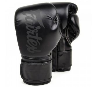 Детские боксерские перчатки Fairtex (BGV-14SB Solid Black)