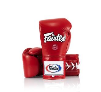 Перчатки боксерские Fairtex (BGL-6 red)