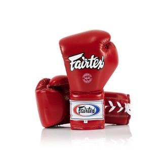 Перчатки боксерские Fairtex (BGL-7 red) Mexican Style