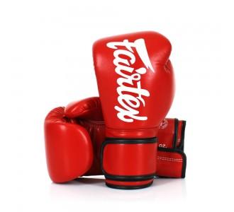 Детские боксерские перчатки Fairtex (BGV-14 red/white)