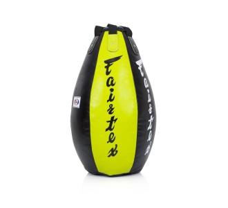 "Боксерский мешок Fairtex (HB-15 green/black) ""Super Tea Drop"""