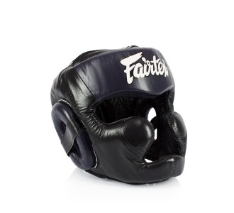 Боксерский шлем Fairtex (HG-13 blue)