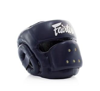 Боксерский шлем Fairtex (HG-14 blue)