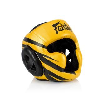 Боксерский шлем Fairtex (HG-16 M1 Gold)