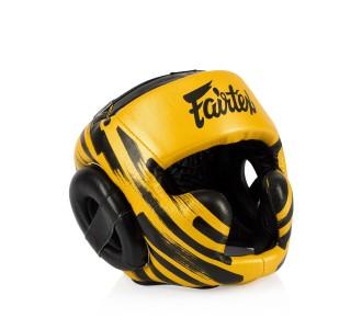 Боксерский шлем Fairtex (HG-16 M2 Gold)