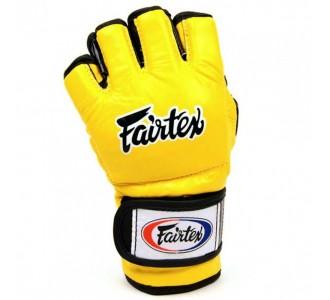 Перчатки MMA Fairtex (FGV-12 yellow)