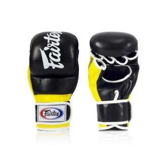 Перчатки MMA Fairtex (FGV-18 yellow)