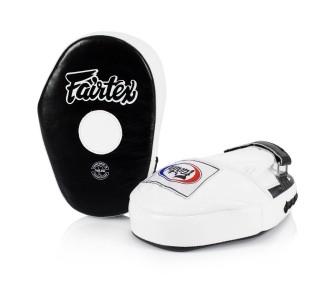 Боксерские лапы Fairtex (FMV-10 black/white)