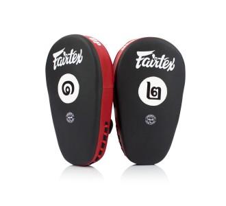 Боксерские лапы Fairtex (FMV-12 black/red)