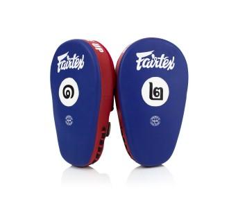 Боксерские лапы Fairtex (FMV-12 blue/red)