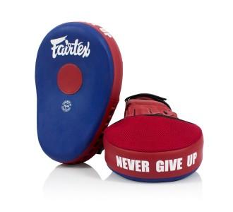 Боксерские лапы Fairtex (FMV-13 blue/red)