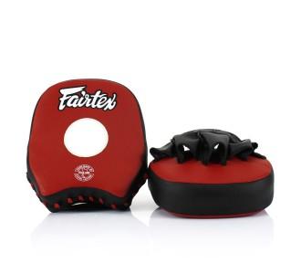 Боксерские лапы Fairtex (FMV-14 red/black)