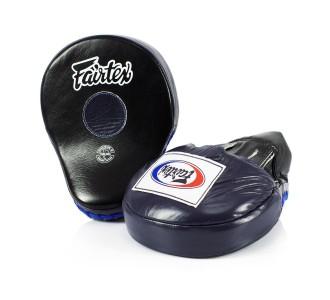 Боксерские лапы Fairtex (FMV-9 black-blue)