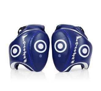 Тренерская защита ног (набедренные щитки) Fairtex TP-3 blue