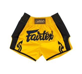 Шорты для тайского бокса Fairtex (BS-1701 yellow)