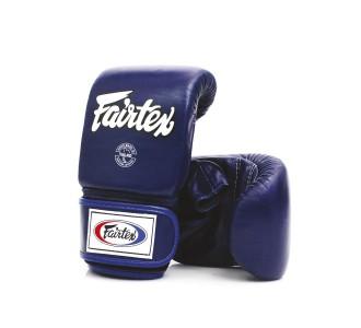 Тренировочные снарядные перчатки Fairtex (TGO-3 blue)