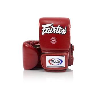Тренировочные снарядные перчатки Fairtex (TGO-3 red)