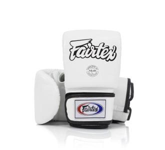 Тренировочные снарядные перчатки Fairtex (TGO-3 white)